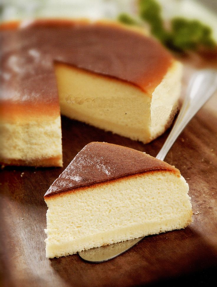 Japanese Light Cheesecake | Cream cheeses, Japanese ...