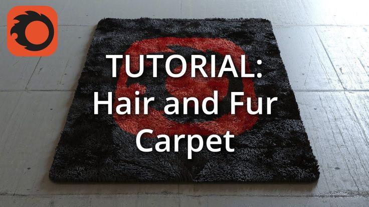 (Corona 1.3) Tutorial: Hair and Fur Carpet
