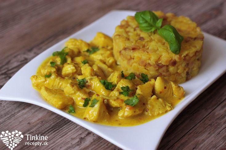 Horčicovo-citrónové kura s tarhoňou