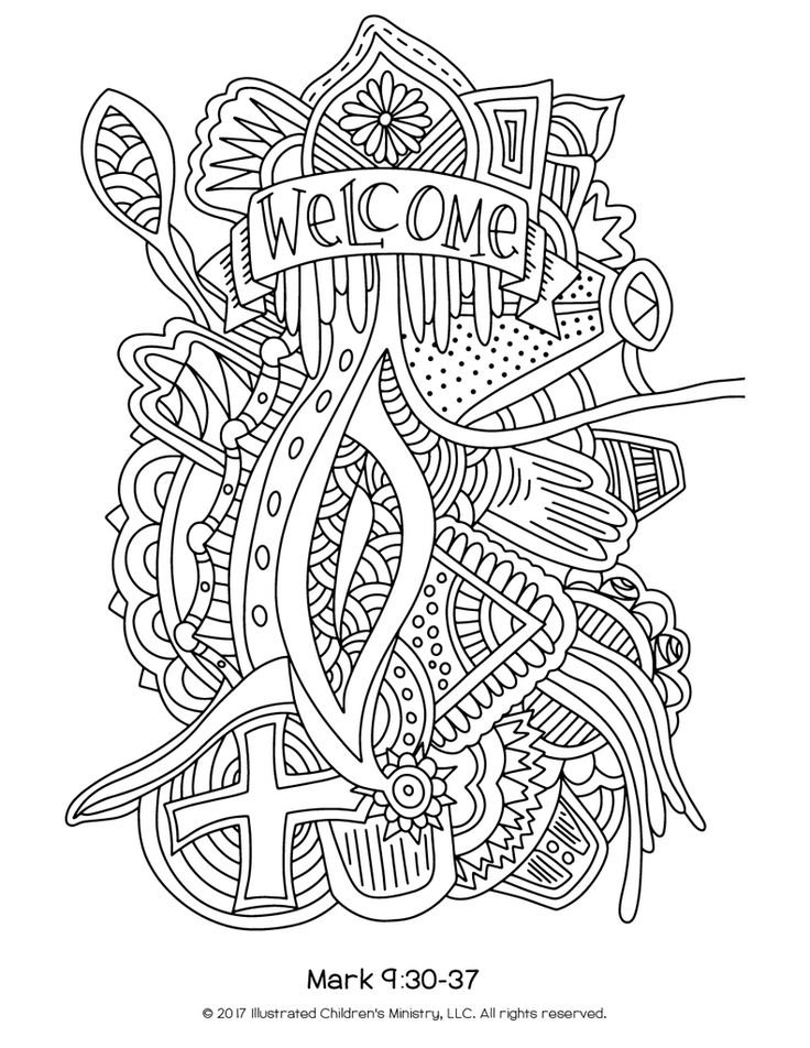 coloring pages for lent - 271 best images about worship bags on pinterest adult
