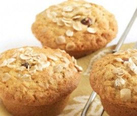 Oat, Date & Honey Muffins: High in fibre and a great alternative to cakes or biscuits, these muffins are the perfect energy-boost for active kids. http://www.bakers-corner.com.au/recipes/muffins/oat-date-honey-muffins/