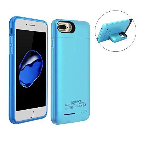 "Battery Charger Case - Blue 4.7"" iPhone 7 - 6 -6S  http://topcellulardeals.com/product/battery-charger-case/?attribute_pa_color=blue-4-7-iphone-7-6-6s  MAGNETIC BRACKET: the top cover can be worked as Magnetic bracket Cell Phone Car Mount Holder Smartphone Stand for iPhones, Tablets, Home, Office, Kitchen, Installs on Any Flat Surface Universal. LATEST UPDATE: Indmird battery case is made of 2pcs Magnetic protective case to Attract each other. MULTI-FUNCTION: Indmird charging"