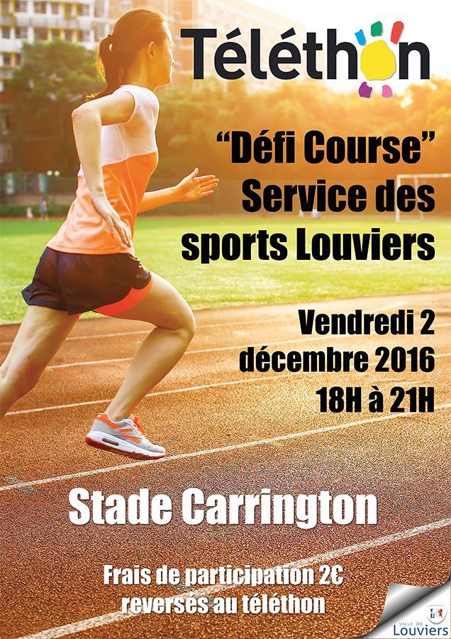 """Le """"Défi course"""" pour le Téléthon ce vendredi 2 décembre à #Louviers"""
