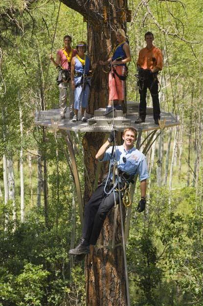 Full Season Office Assistant needed for Colorado mountain zipline Soaring Treetop Adventures