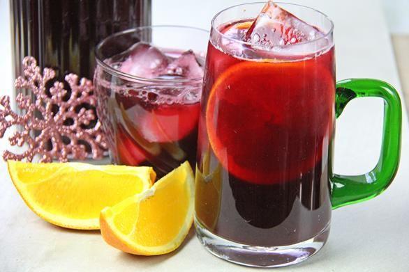 Sorrel Cranberry Rum Punch Recipe.