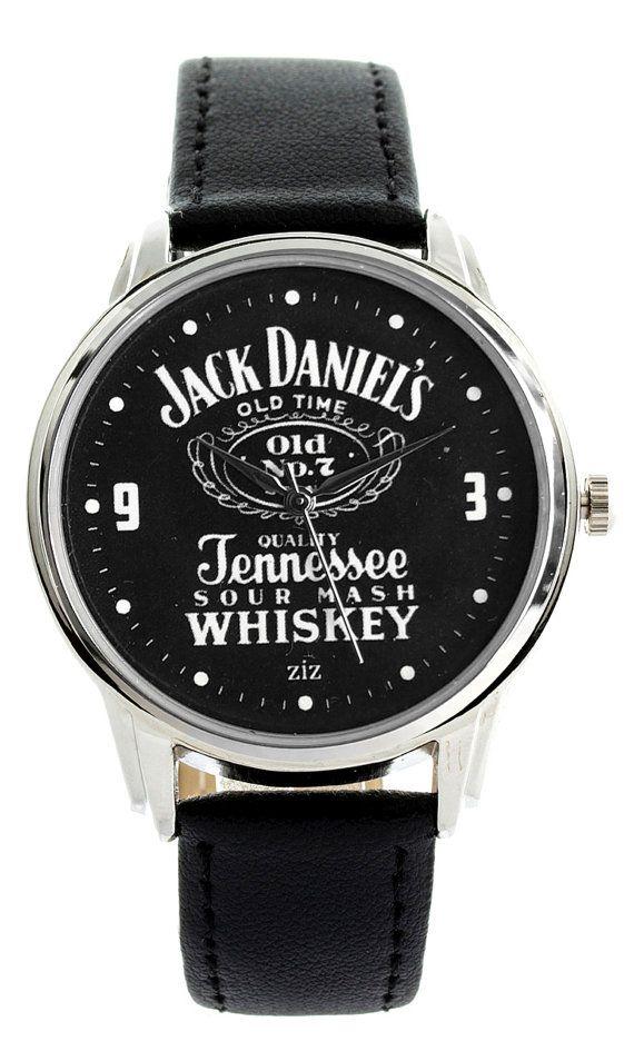 1efbba825e09 Jack Daniels Watch - Wristwatch   Retro Vintage Style   Jack Daniel s  Tennessee Whiskey