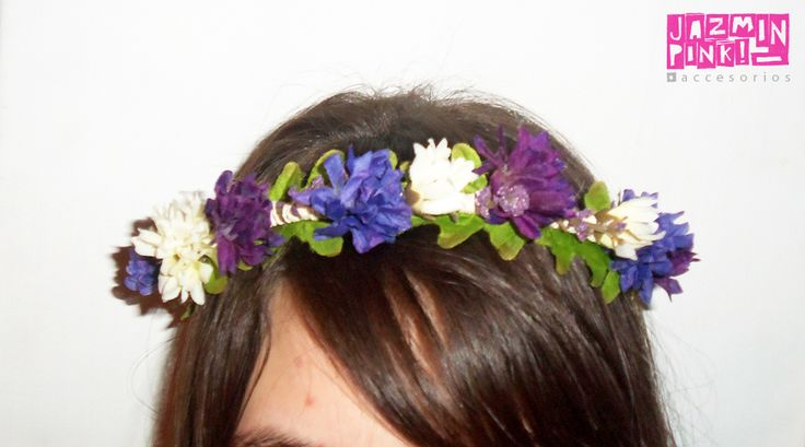 #flowercrown #floral #headband #flores #crown #romantic #flower #fashion #accesories #fashionista #mode #woman #hair #violet
