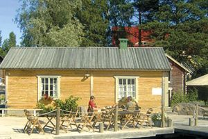 Café Bryggan, Kalastajakylä Öja, Kokkola, Suomi Finland. Where my family is from.....CS