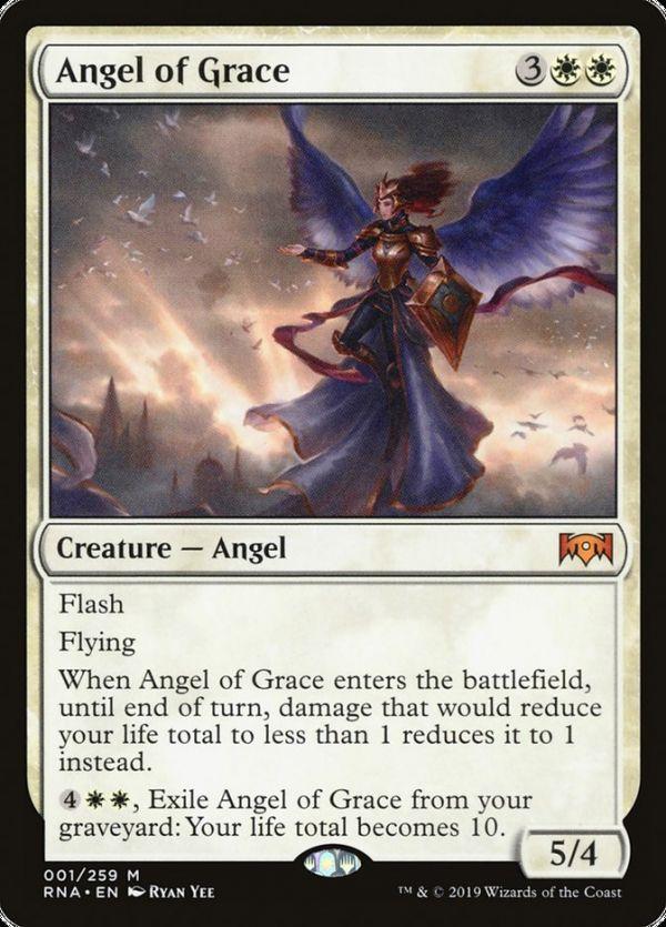 Shards of Alara Near Mint Battlegrace Angel 1x Foil English -BFG- MTG x1