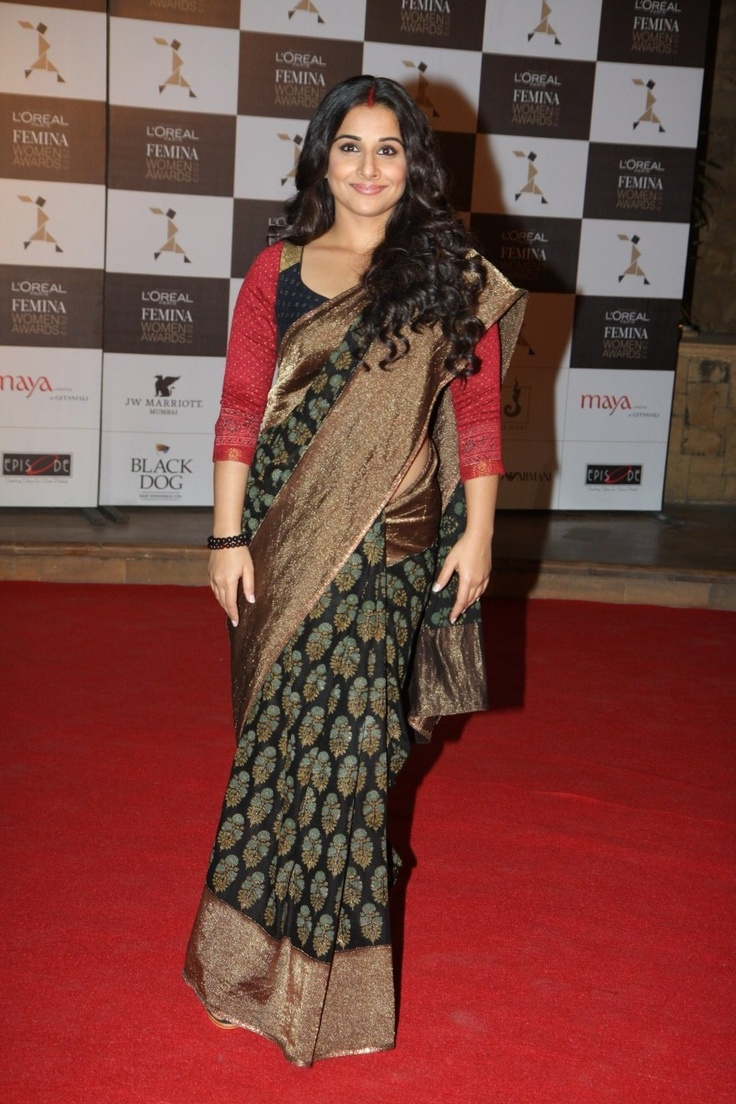 Vidya Balan at Loreal Femina Women's Awards.