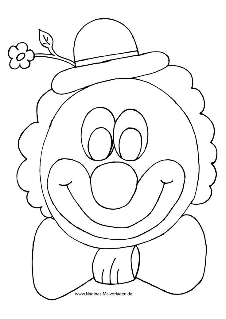 frisch clown ausmalen malvorlagen malvorlagenfürkinder