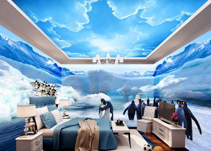 8 best d coration murale grande panoramique papier peint photo tapisserie paysage poster g ant. Black Bedroom Furniture Sets. Home Design Ideas