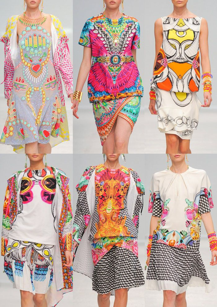 Manish Arora - Paris Fashion Week - Spring/Summer 2014 - Print Highlights Part 1
