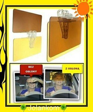 Oslona antyodblaskowa na dzien i na noc dlaTwojego  Pasuje do kazdego samochodu  Bardzo prosty montazWARTO DBAC O BEZPIECZENSTWO JAZDY  #oslona #antyodblaskowa #dzien #noc #auto #samochod #bezpieczeństwo #oslepia #slonce #wiosna #lato #daszek...