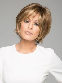 Straight Brown Short 6″ Synthetic Lace Wigs