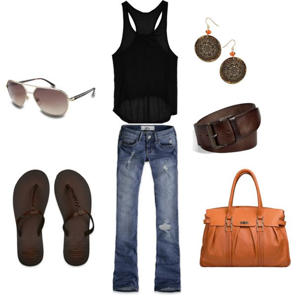 Casual: Weekend Wear, Casual Summer Outfits, One Word, Jeans, Fashionista Trends, Comfy Casual, Casual Outfits, Summer Night, Bags