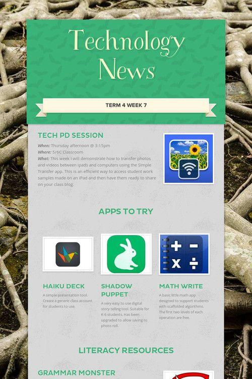 Technology News T4 W7