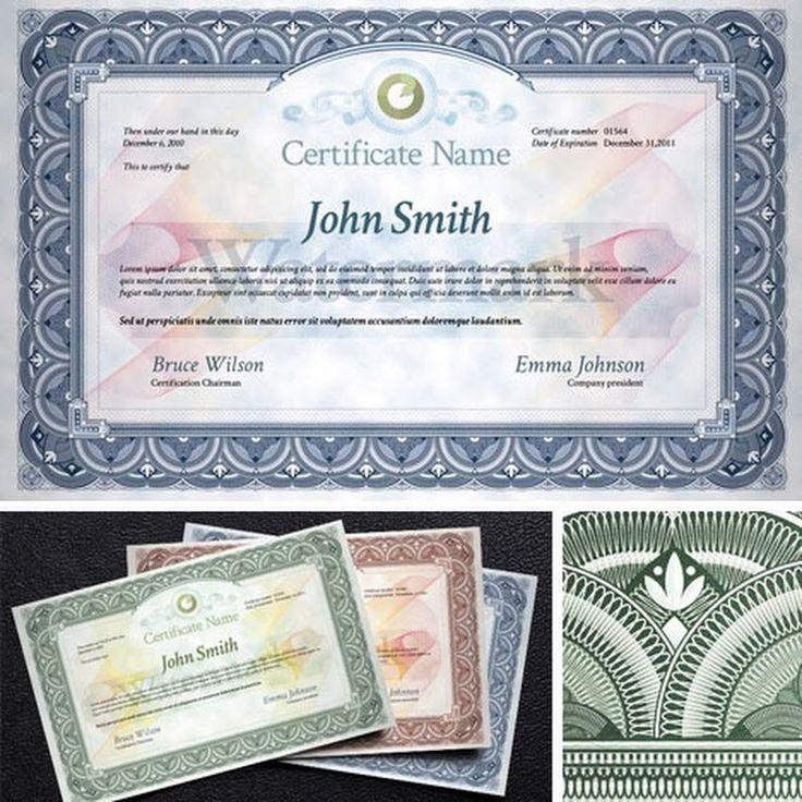 Plantillas gratuitas y profesionales para diplomas, certificados de asistencia, títulos y similares. Formatos PSD, vectores y también para Word.
