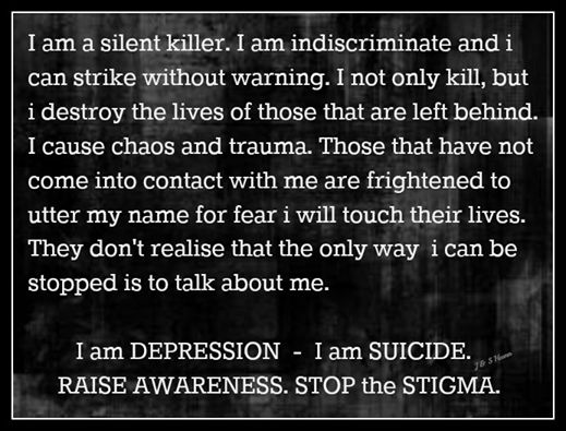 suicide and depression awareness
