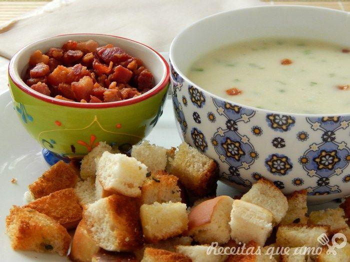 Croutons para saladas e sopas