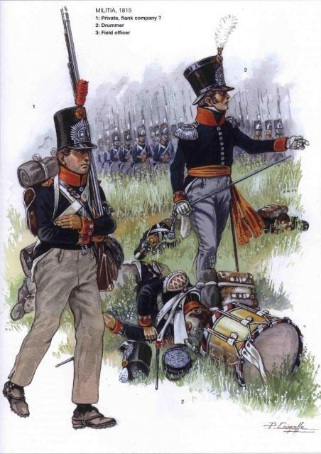 Dutch Infantry 1815