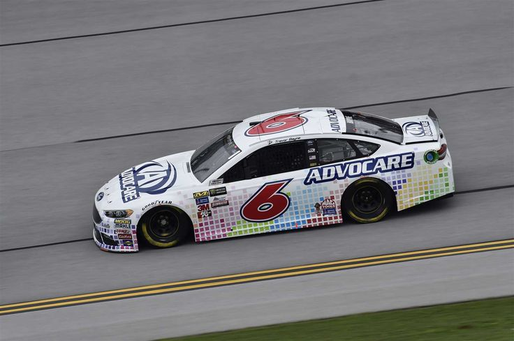 Starting lineup for 2017 spring Talladega race  By NASCAR.com | Saturday, May 6, 2017  Trevor Bayne will start fifth in the No. 6 Roush Fenway Racing Ford  Crew chief: Matt Puccia  Spotter: Roman Pemberton  Photo Credit: John K Harrelson NKP  Photo: 5 / 40