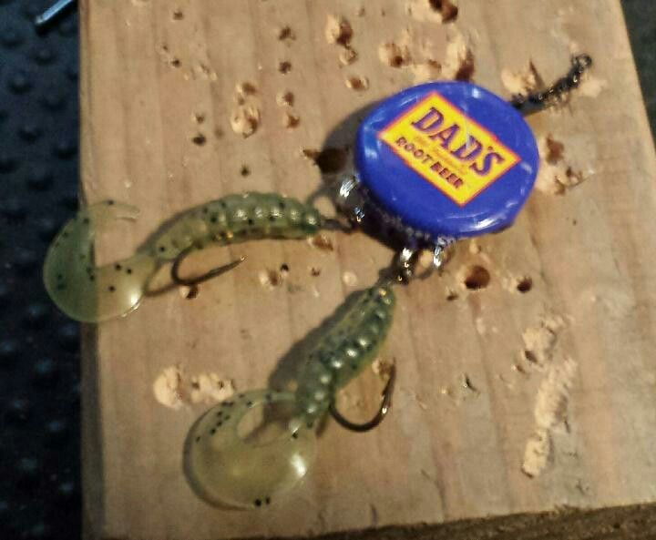 Homemade fishing lures                                                                                                                                                                                 More