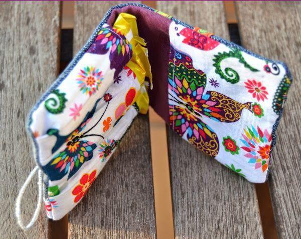 DIY: Un neceser para el bolso con tela vaquera