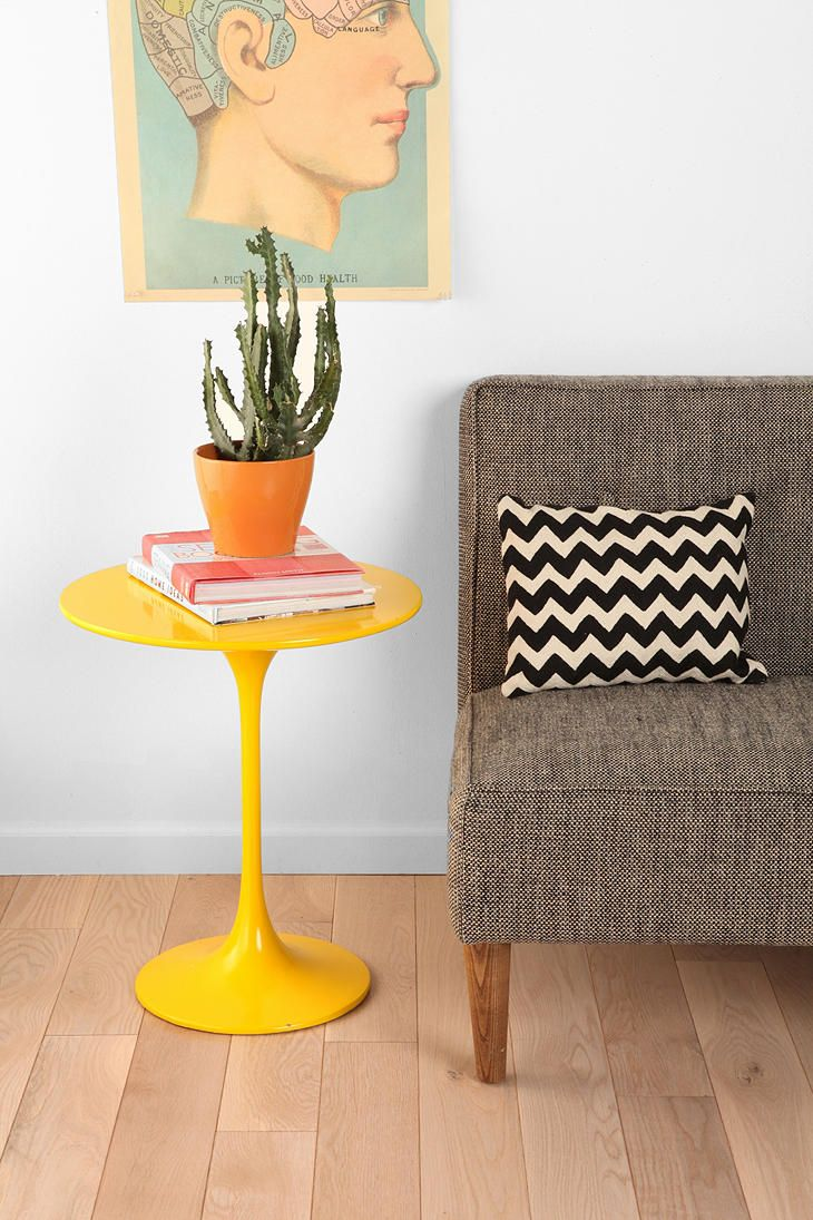Good Hourglass Lacquer Side Table