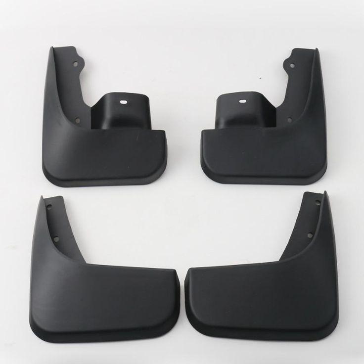 4Pcs ABS Black Front Rear Trunk Mud Guards Splash Flaps Fenders for Suzuki Jimny 2007-2015 Free Shipping New