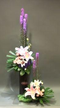Double arrangement for Church Floral Design.   Gordon Lee