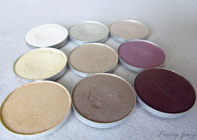 MAC eyeshadow collection and dupes