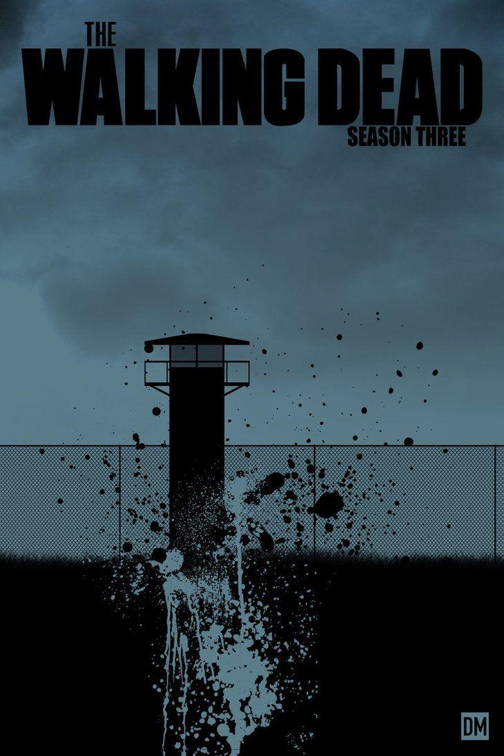 THE WALKING DEAD - Season 3 fan art by Daniel Mead