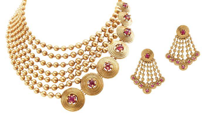 Azva Gold Set