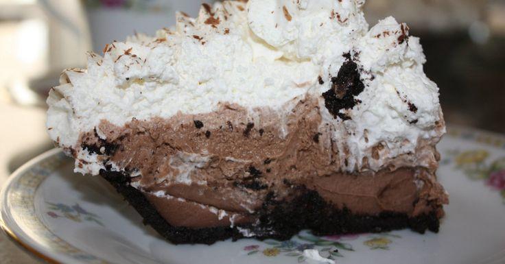 Easy Chocolate Pudding Pie