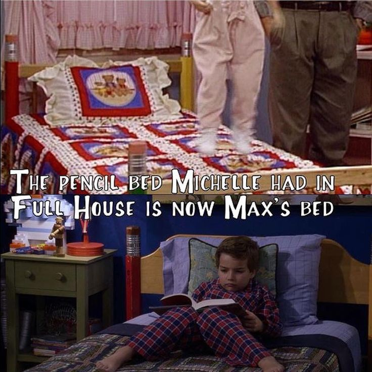 Full House Pencil Bed