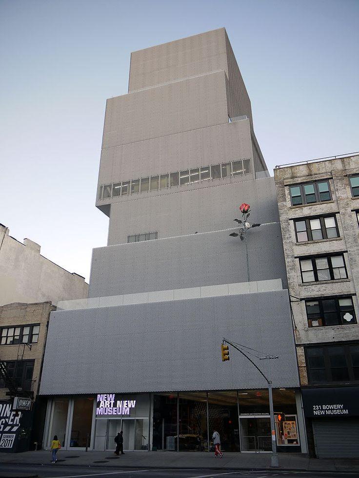 The New Art Museum. Manhattan, New York