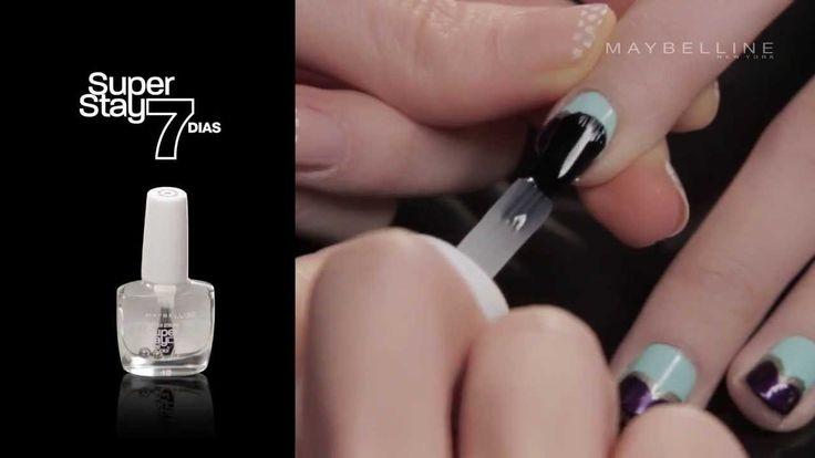 Sumate a la tendecia #ColorBlock  y probá este #NailArt. #Tutoriales #MNYArgentina