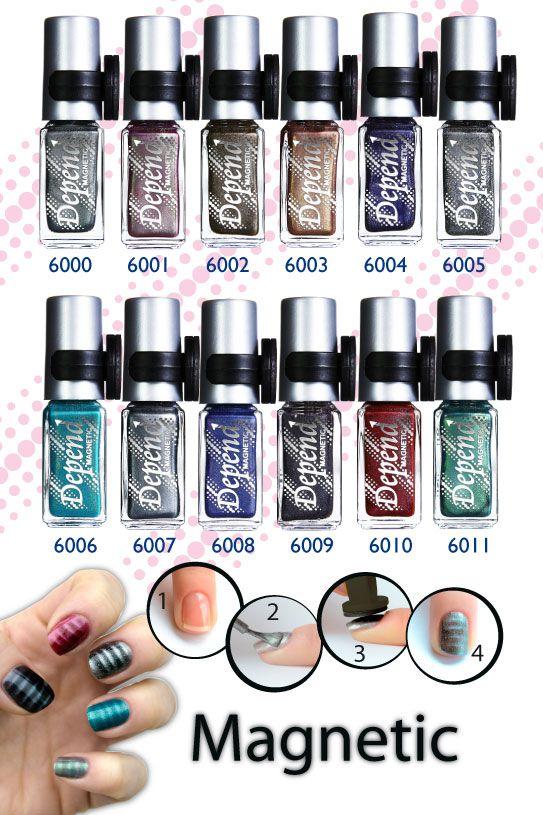 Läckra naglar med Depend magnetlack!