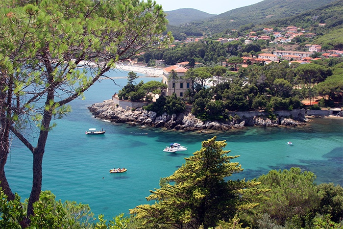 Places I love.    Cavo, Elba