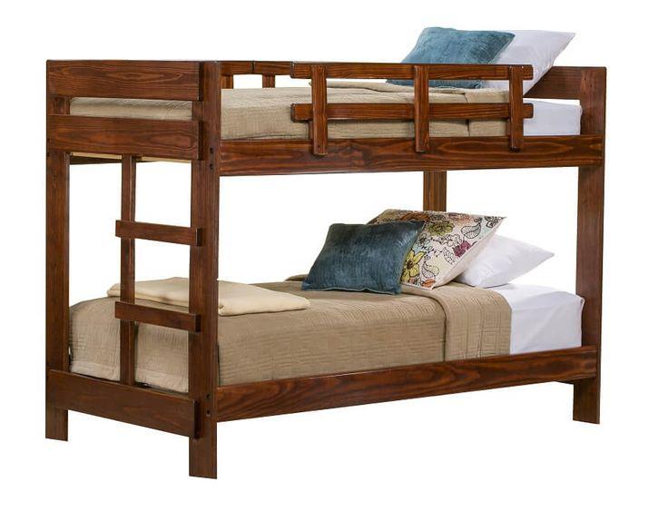 slumberland tanglewood collection choc tw tw bunk 229 on Slumberland Bunk Beds id=39048
