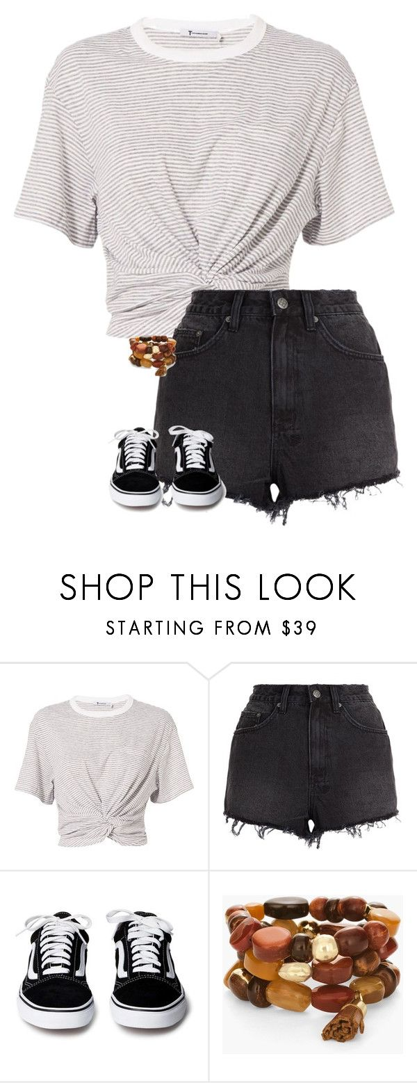 """""""Untitled #711"""" by audett99 ❤ liked on Polyvore featuring T By Alexander Wang, Ksubi and Chico's"""