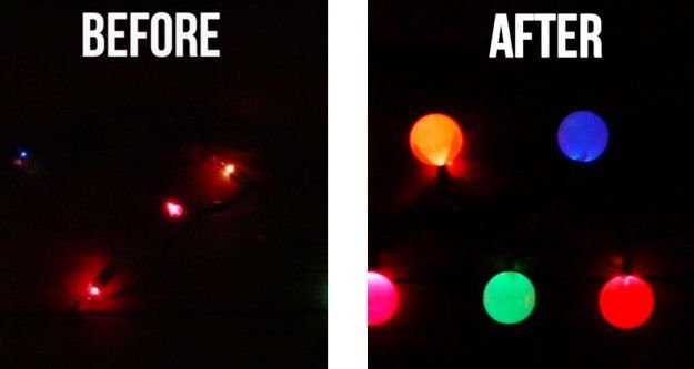 Ping Pong Ball Lights 4 Insanely Creative Christmas Light Hacks