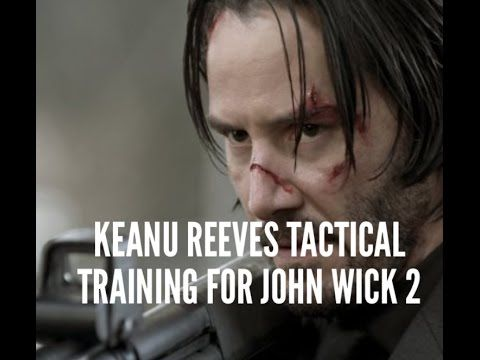 KEANU REEVES TACTICAL TRAINING FOR JOHN WICK 2 WITH AARON COHEN
