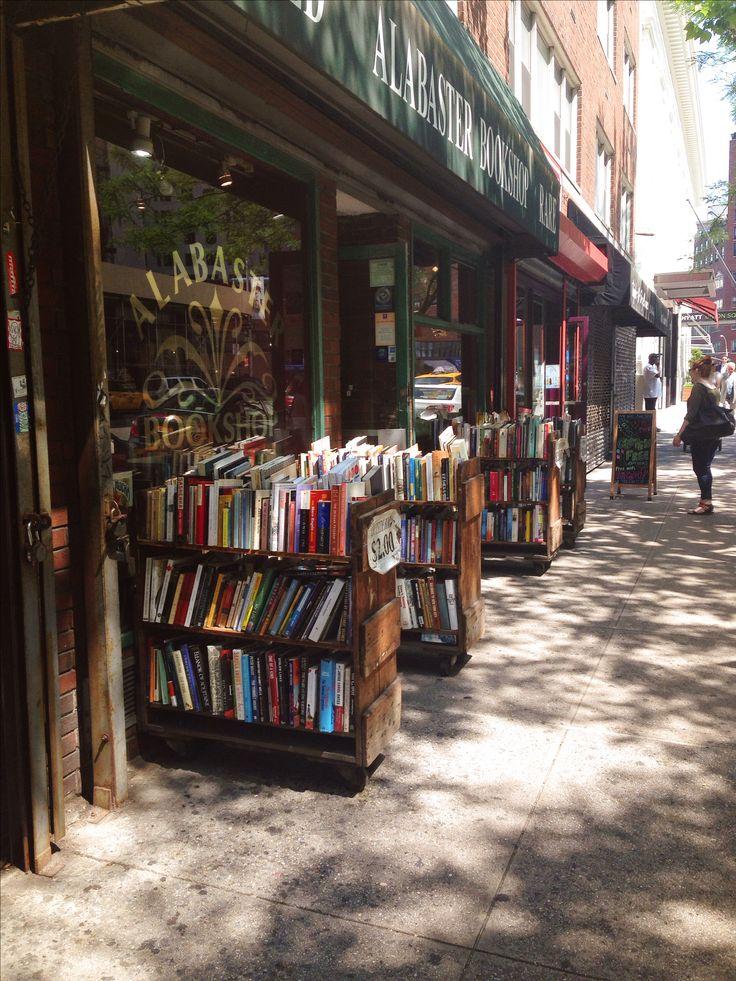 Alabaster Bookshop, NYC | BookLove | Pinterest