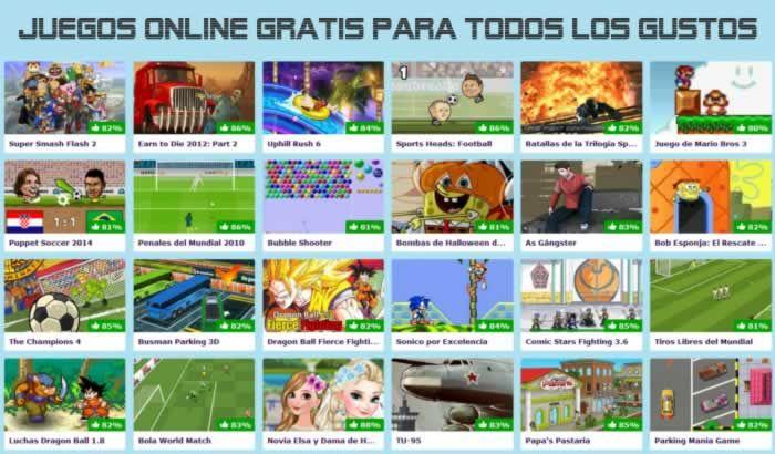 Juegos Online Gratis para todos los gustos #juegosonline