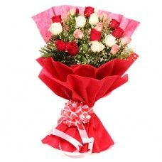 Mixed Roses, Roses Bouquets, Roses Flowers