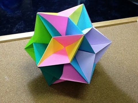 Daily Origami: 475 - Silvana's Star Ball