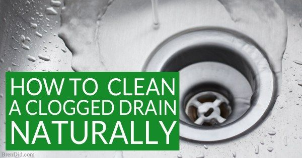 Want to naturally unclog a sink or clean a slow moving drain? Learn why you…
