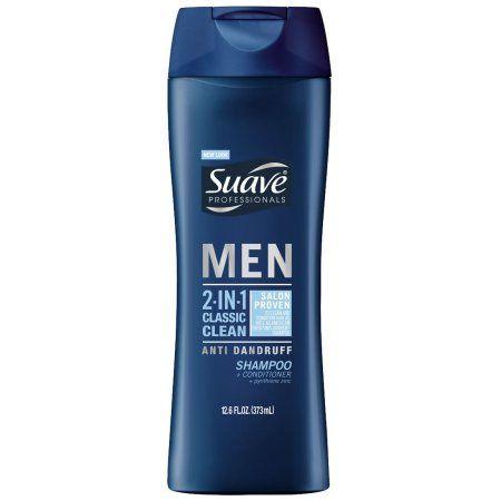 Suave Professionals Men 2-in-1 Classic Clean Anti-Dandruff Shampoo + Conditioner 12.60 oz